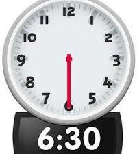 6.30 clock