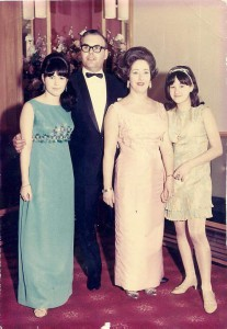 Shirley, Helen Mum and Dad